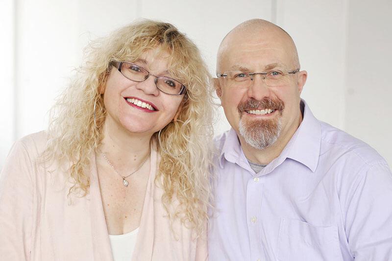 Portrait of a British couple, church leaders in Munich